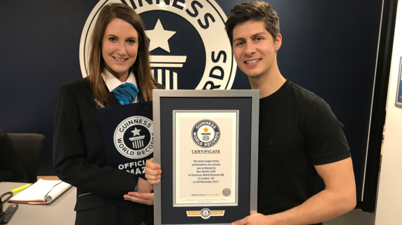 Guinness World Record - Ben Hanlin